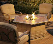 Agio patio embers firepit